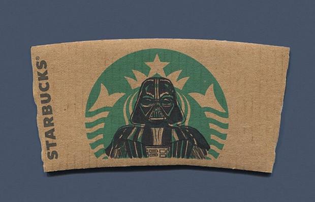 sleevebucks ilustrações sereia do Starbucks 01