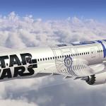 R2-D2 vira Boeing para divulgar o lançamento do novo filme de Star Wars