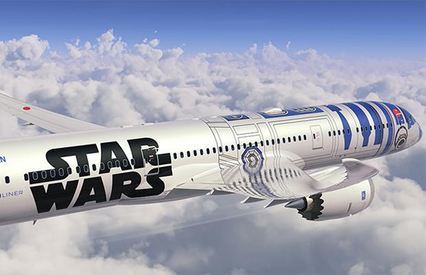 Star Wars avião ANA R2-D2