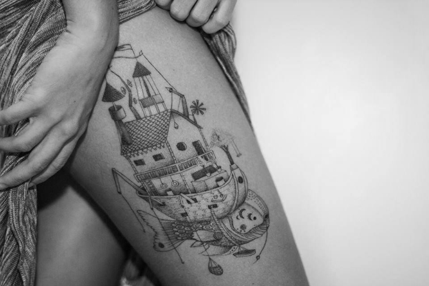 Nando Zevê tattoo casa