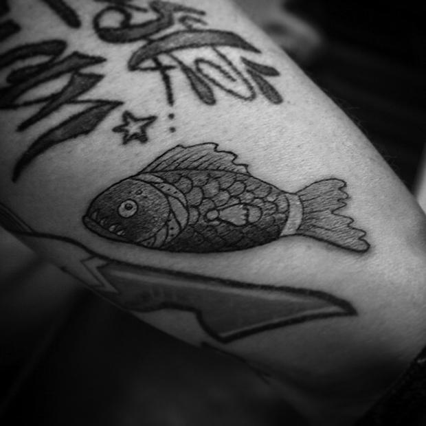 Nando Zevê tattoo peixe