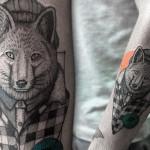 Farfalla Ink cria tatuagens incríveis com toques de cor