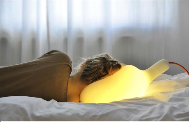 objetos de desejo Luminária macia soft light lamp