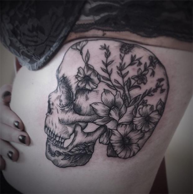 Tattoo tatuagem botânica Elissa Rocabado
