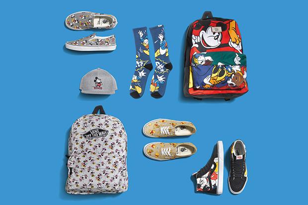 Vans Disney Coleção Young at Heart peças