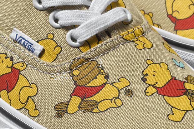 Vans Disney Coleção Young at Heart tênis Pooh