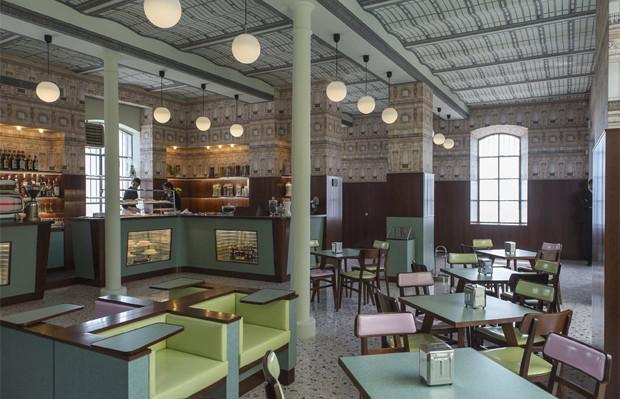 wes anderson prada Bar Luce Milão