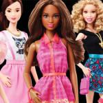 Barbie ganha novos tons de pele, olhos e cabelos diferentes, além de não usar mais salto