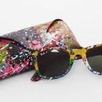Ray Ban lança coleção de óculos coloridos em colaboração com o artista Mr. Brainwash