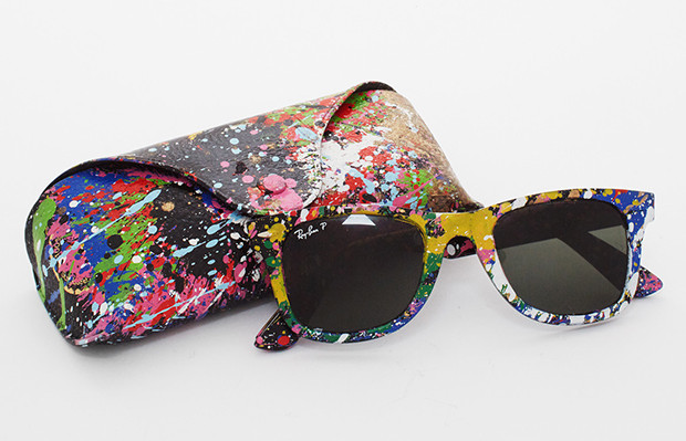 Sunglass hut Mr. Brainwash Ray Ban wayfarer cores