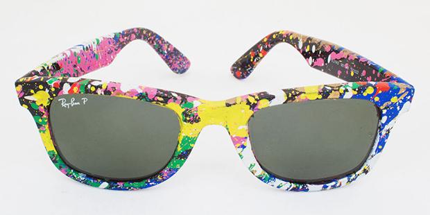744bc3781b748 Ray Ban lança coleção de óculos coloridos em colaboração com o ...