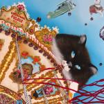 Artista Saramello inaugura exposição com pinturas baseadas em gatos de rua