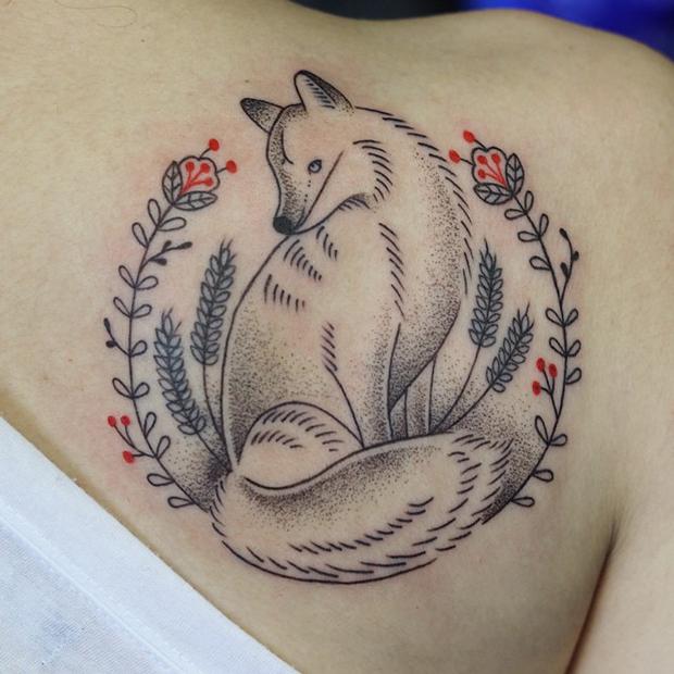 tattoo friday tatuagem dani bianco raposa