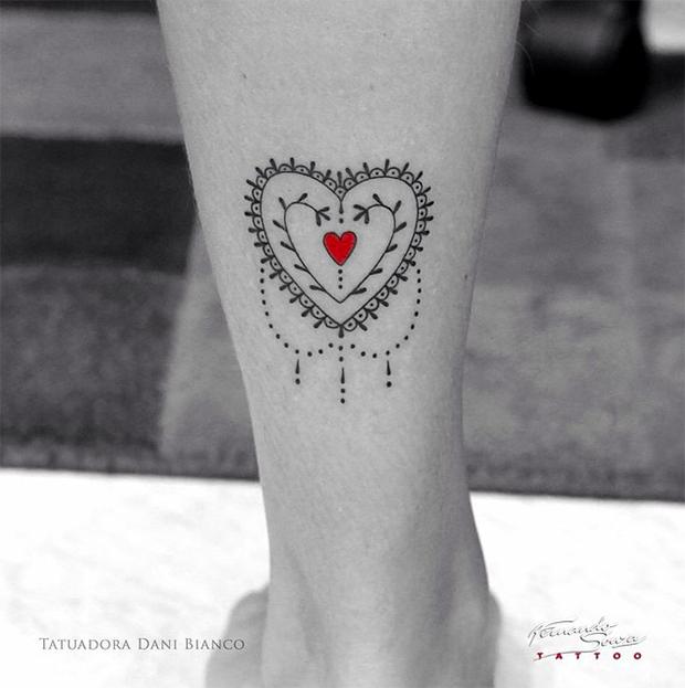 tattoo friday tatuagem dani bianco coração