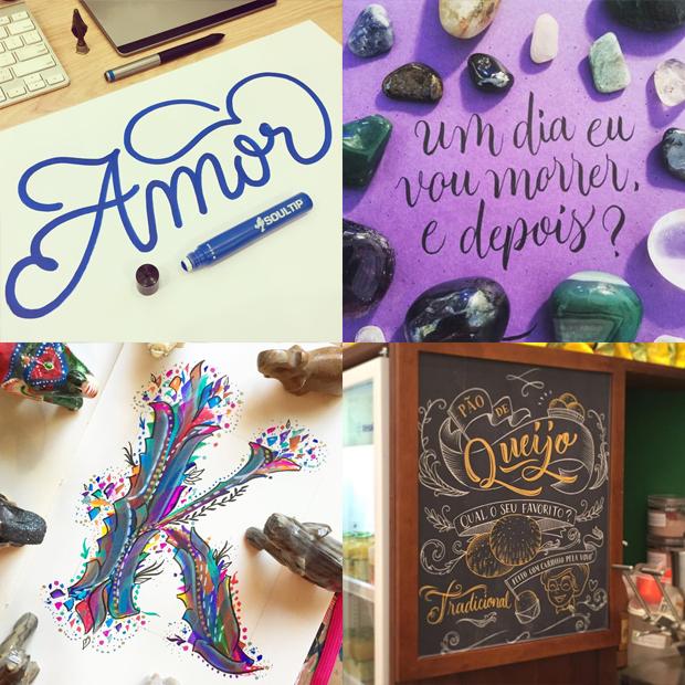 tipógrafos brasileiros calígrafos handlettering instagram Tipocali