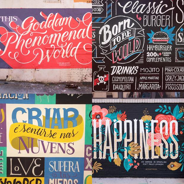 tipógrafos brasileiros calígrafos handlettering instagram criatipos