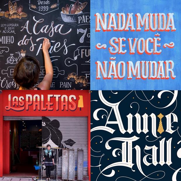 tipógrafos brasileiros calígrafos handlettering instagram Cyla Costa