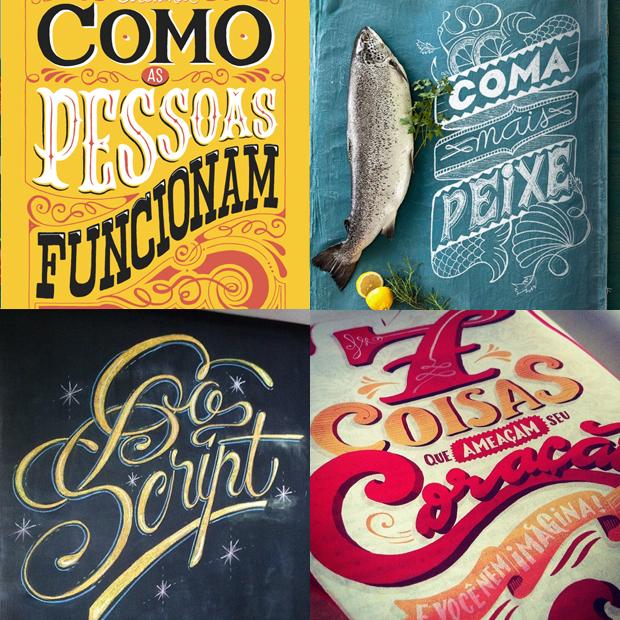 tipógrafos brasileiros calígrafos handlettering instagram Sérgio Bergocce