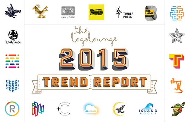 the logolounge 2015 trend report logo