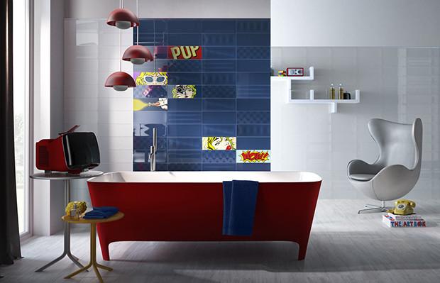Roy-Lichtenstein azulejos Ceratec objetos de desejo