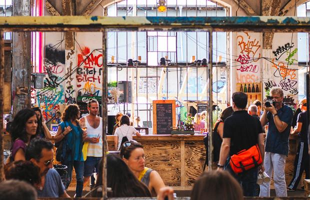 Berlim Neue Heimat RAW flohmarkt