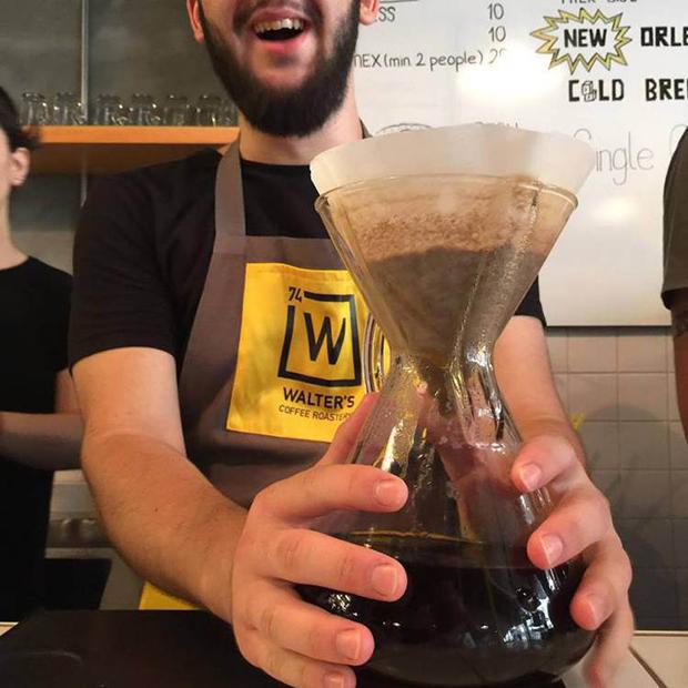 café temático breaking bad Walter' s Coffee Roastery
