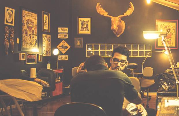 estúdio tattoo ink em São Paulo ambiente