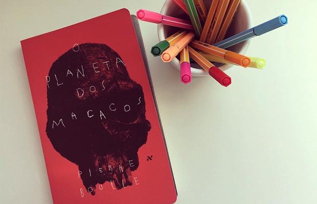 livro editora aleph planeta dos macacos