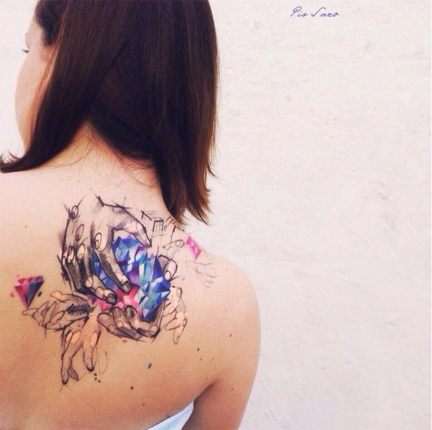 tattoo friday Pis Saro tattoo