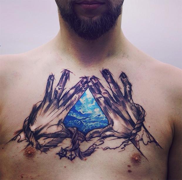 tattoo friday Pis Saro tattoo céu