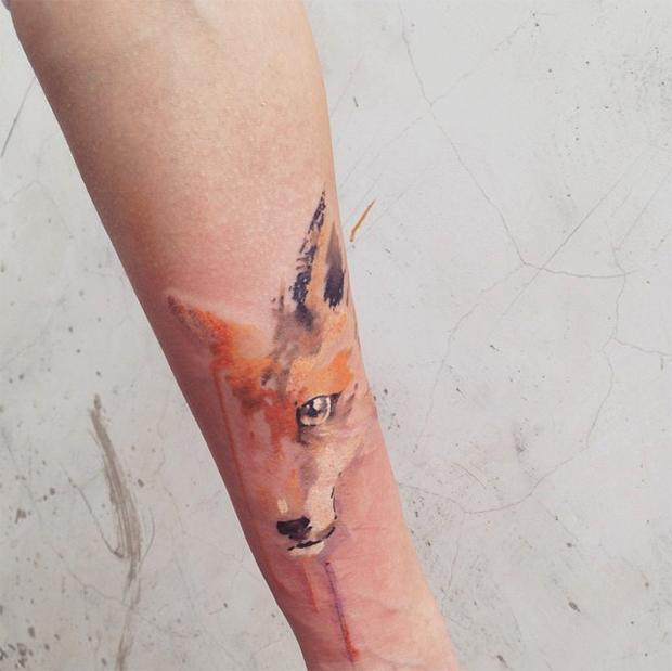 tattoo friday Pis Saro tattoo raposa