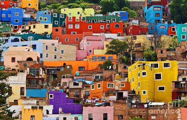 lugares coloridos visitar viagem américa latina Guanajunato México