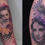 Guillaume Smash cria padronagens incríveis em pixels e muitas cores na pele!