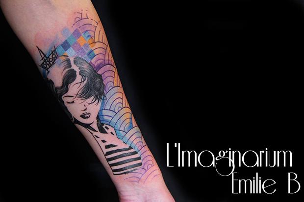 Émilie Barbera tattoo friday 01