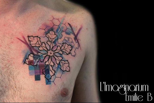 Émilie Barbera tattoo friday 03