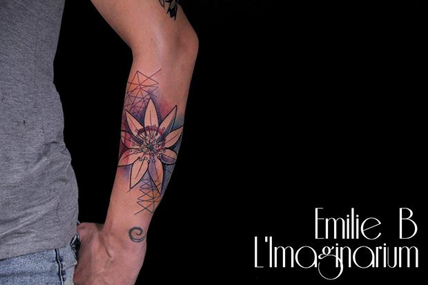 Émilie Barbera tattoo friday 04