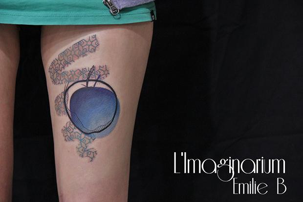 Émilie Barbera tattoo friday 06