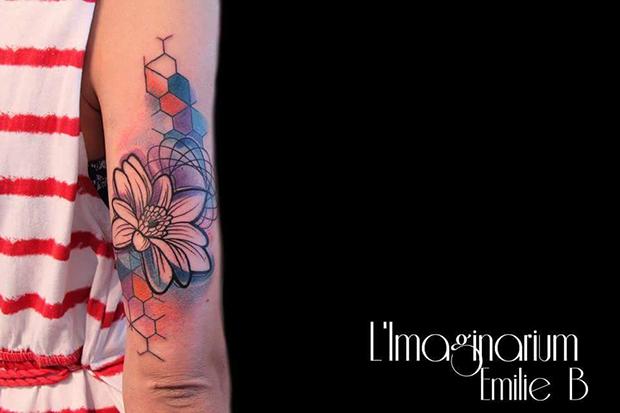 Émilie Barbera tattoo friday 07