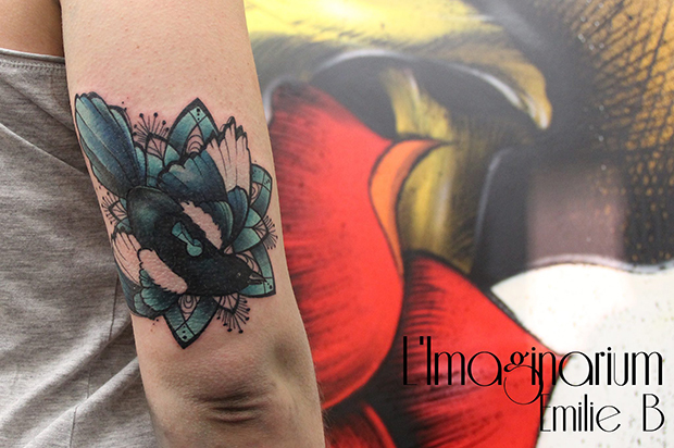 Émilie Barbera tattoo friday 05