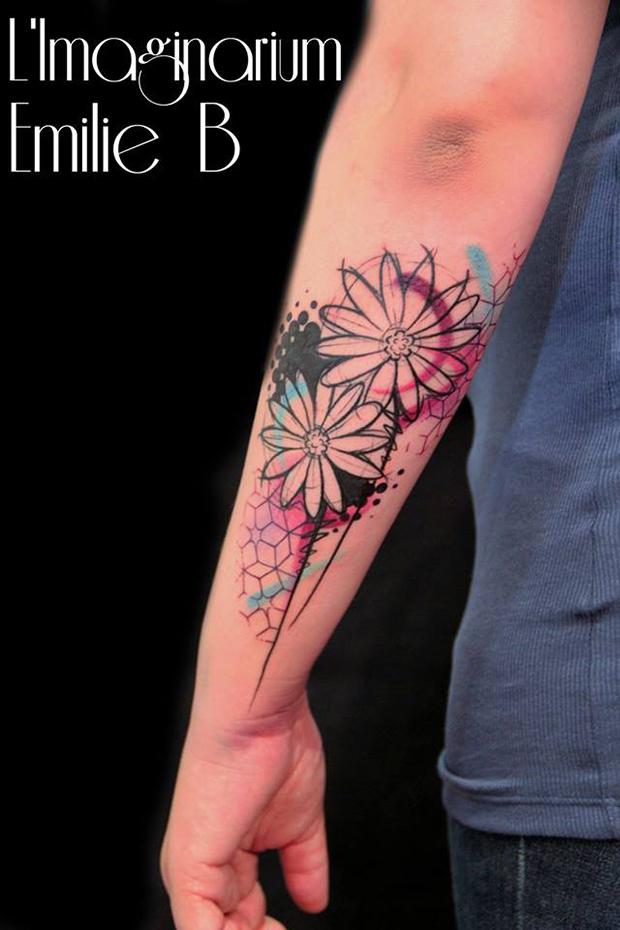 Émilie Barbera tattoo friday 13