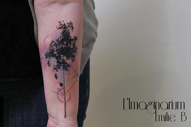 Émilie Barbera tattoo friday 17
