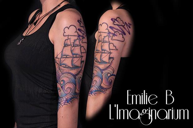Émilie Barbera tattoo friday 02