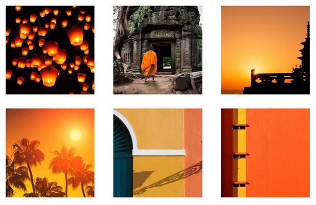 como escolher cor perfeita para sua marca laranja