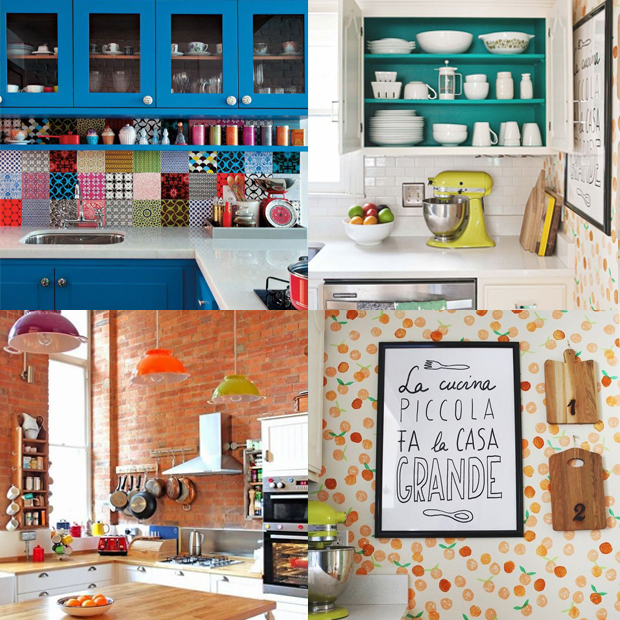 acessórios dicas cozinha mais colorida