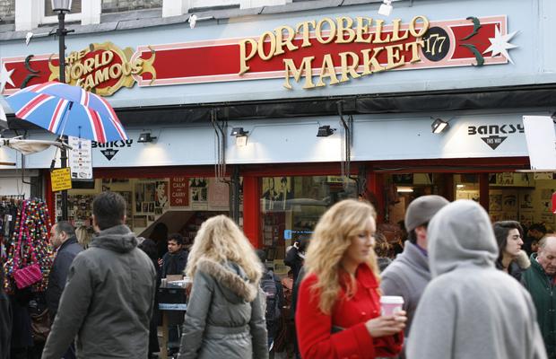 London Londres dicas lugares passeios Portobello road market