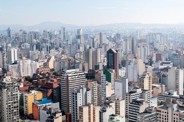são paulo cidade brasil prédios