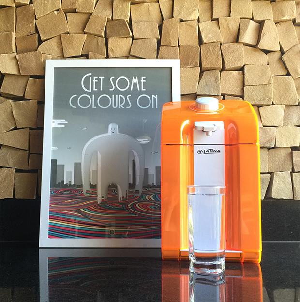 purificador de água colorido Latina eletrodomésticos
