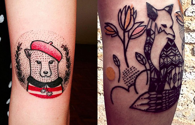 andreia mine tattoo