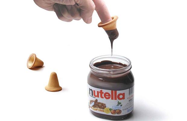 finger biscuit biscoito de dedo Nutella Paolo Ulian
