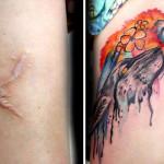 A Pele da Flor: tatuadora brasileira cobre gratuitamente cicatrizes deixadas pela violência doméstica